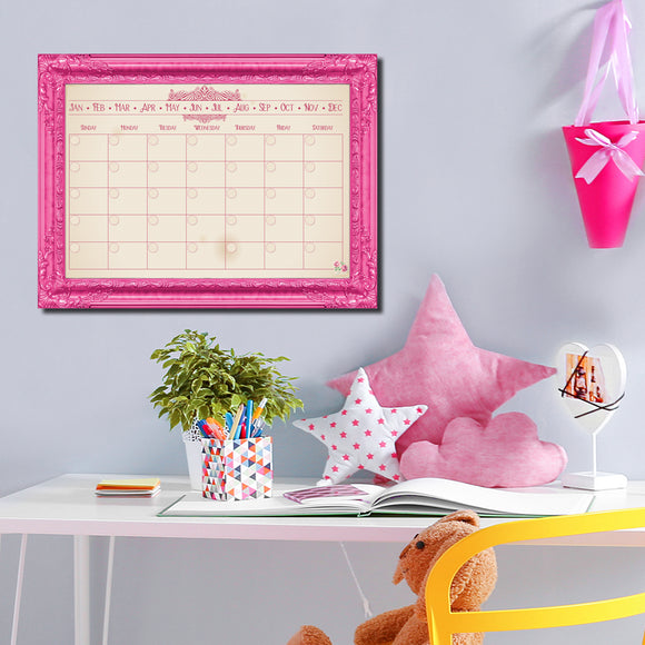 R2H Methods 'Prettier in PInk' Dry Erase Monthly Calendar on ArtPlexi