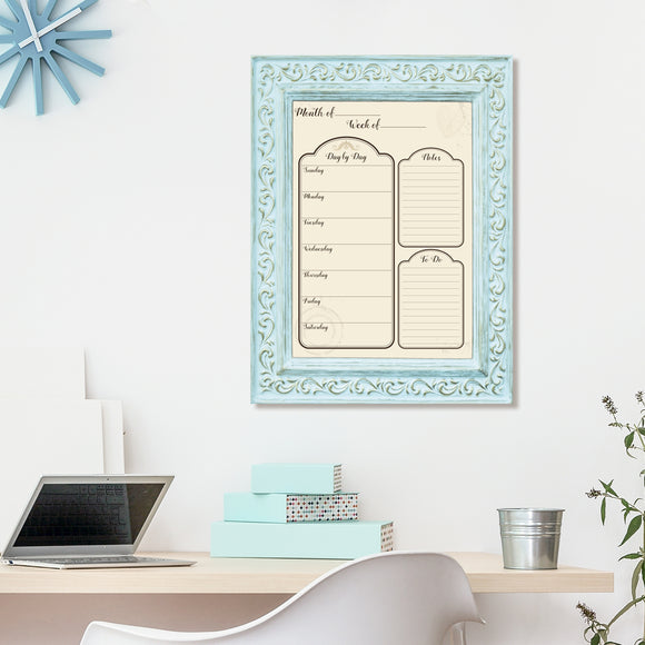 R2H Methods 'Socialite' Dry Erase Weekly Calendar on ArtPlexi