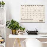 R2H Methods 'Coffee Please' Dry Erase Monthly Calendar on ArtPlexi