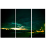 Nicola Lugo 'Sunset' 3-piece Canvas Wall Art Set