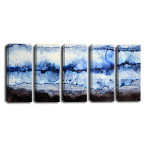 Ready2HangArt™ 'Glacier' by Norman Wyatt Jr. 5-pc Wrapped Canvas Set