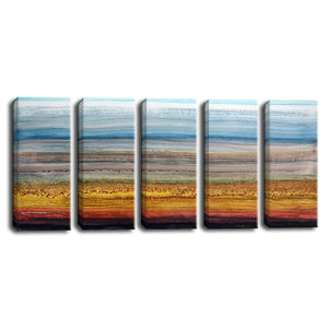 Ready2HangArt™ 'Heaven and Earth' by Norman Wyatt Jr. 5-pc Wrapped Canvas Set