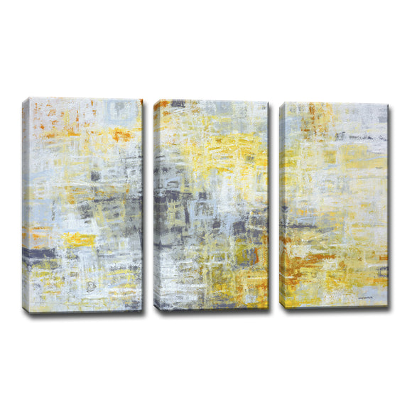 Ready2HangArt™ 'Joy Within ' by Norman Wyatt Jr. 3-pc Wrapped Canvas Art Set