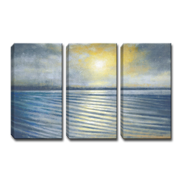 Ready2HangArt™ 'Ripples' by Norman Wyatt Jr. 3-pc Wrapped Canvas Art Set