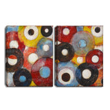 Ready2HangArt™ 'Circumstantial I/II' by Norman Wyatt Jr. 2-pc Wrapped Canvas Art Set