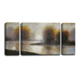 Ready2HangArt™ 'Bailey's Creek I/II/III' by Norman Wyatt Jr. 3-pc Wrapped Canvas Art Set