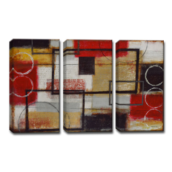 Ready2HangArt™ 'Energized' by Norman Wyatt Jr. 3-pc Wrapped Canvas Art Set