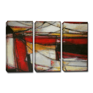 Ready2HangArt™ 'Re-Energized' by Norman Wyatt Jr. 3-pc Wrapped Canvas Art Set