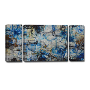 Ready2HangArt™ 'White Water' by Norman Wyatt Jr. 3-pc Wrapped Canvas Art Set