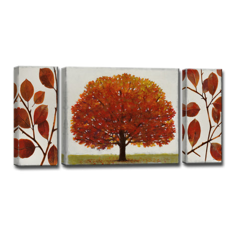 Ready2HangArt™ 'November Splendor' by Norman Wyatt Jr. 3-pc Wrapped Canvas Art Set