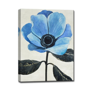 'Graceful Poppy III' Wrapped Canvas Wall Art