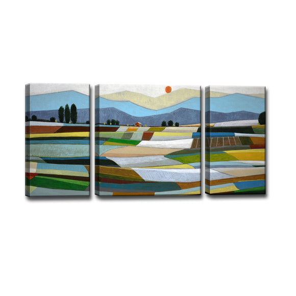 Ready2HangArt™ 'Fertile Acres' by Norman Wyatt Jr. 3-pc Wrapped Canvas Art Set