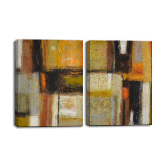 Ready2HangArt™ 'New Earth I/II' by Norman Wyatt Jr. 2-PC Wrapped Canvas Set