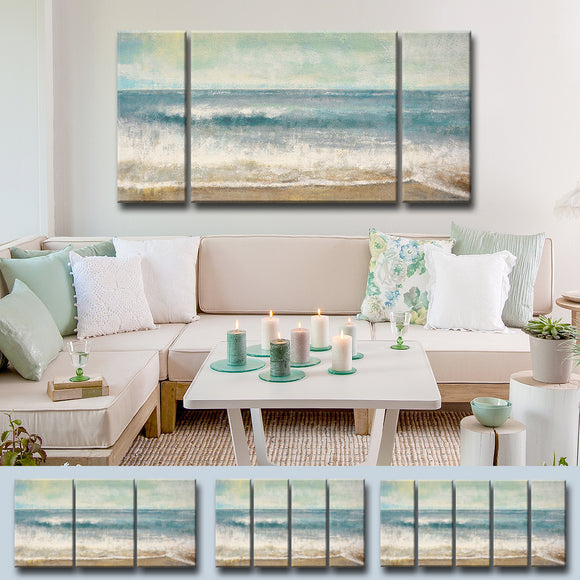 Ready2HangArt™ 'Beach Memories' by Norman Wyatt Jr. Canvas Art Set