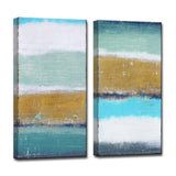 Ready2HangArt™ 'Coastal Shores' by Norman Wyatt Jr. Canvas Art Set