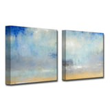 Ready2HangArt 'Coastal Downpour' by Norman Wyatt, Jr 2 Piece Canvas Art Set