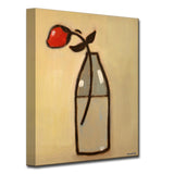 Ready2HangArt Canvas Art 'Minimalist Rose I' by Norman Wyatt, Jr.