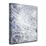 'Denim Threads I' Wrapped Canvas Wall Art