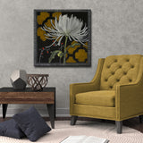 Ready2HangArt Canvas Art 'Gilt Slate Flora III' by Hope Hansen