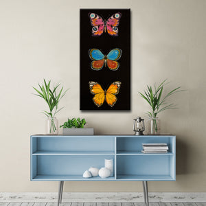 Ready2HangArt Canvas Art 'Butterfly Trio I' by Hope Hansen