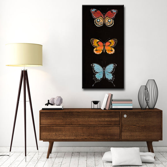 Ready2HangArt Canvas Art 'Butterfly Trio II' by Hope Hansen