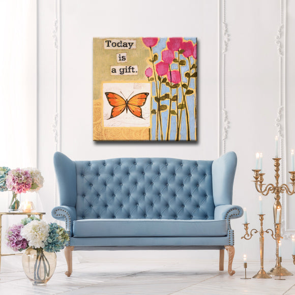Ready2HangArt Canvas Art 'Happy Thoughts I' by Hope Hansen