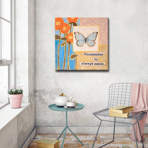 Ready2HangArt Canvas Art 'Happy Thoughts II' by Hope Hansen