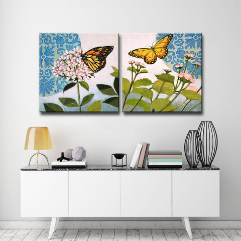 Ready2HangArt 2 Piece Wall Art Set 'Flitter I/II' by Hope Hansen