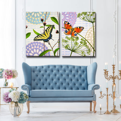 Ready2HangArt 2 Piece Wall Art Set 'In the Meadow I/II' by Hope Hansen