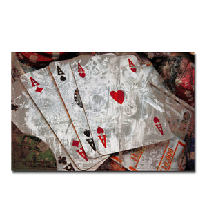 Ready2HangArt 'Poker I' Canvas Wall Art