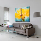 Ready2hangart 'Painted Petals XVII' Canvas Wall Art