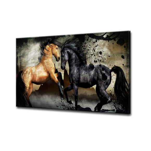 Equestrian Saddle Ink I' ArtPlexi by Ready2HangArt