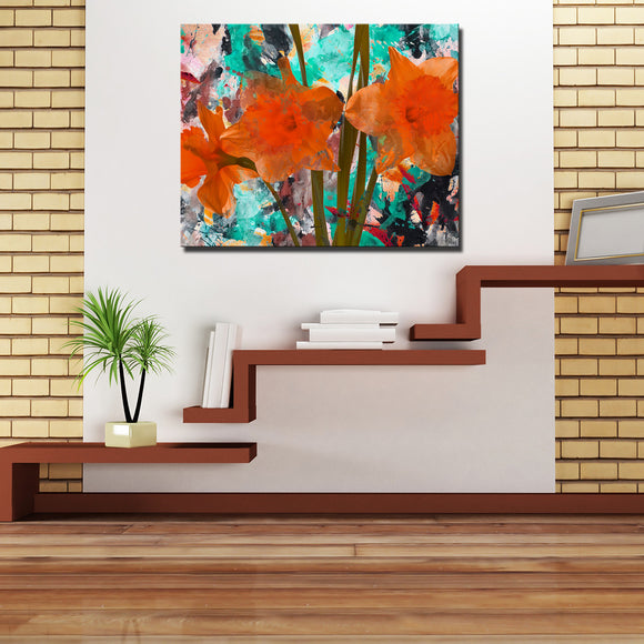 Ready2hangart 'Painted Petals XXII' Canvas Wall Art