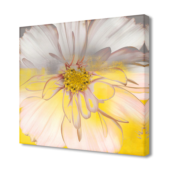 Painted Petals XXXIV' Wrapped Canvas Wall Art