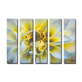 Ready2hangart 'Painted Petals XXXVII' Canvas Wall Art