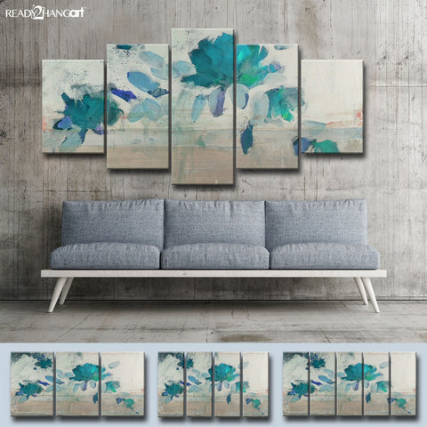 Ready2hangart 'Painted Petals IV-B' Canvas Wall Art