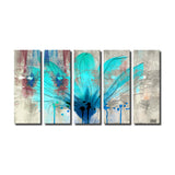 Ready2hangart 'Painted Petals LII' Canvas Wall Art