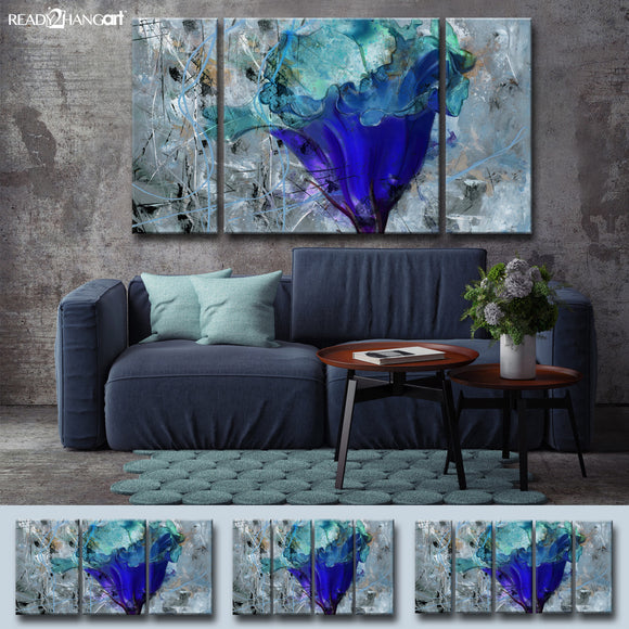 Ready2hangart 'Painted Petals LX' Wall Art Set