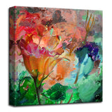 Ready2hangart 'Painted Petals LXI' Canvas Wall Art Set