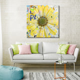 Ready2HangArt 'Painted Petals LXIX' Canvas Art