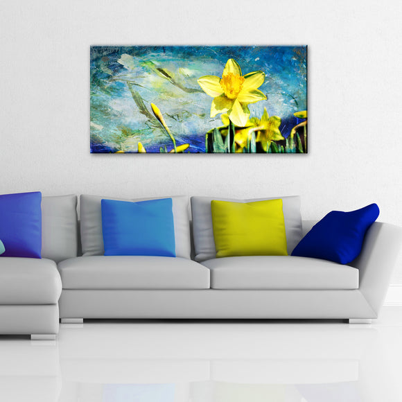 Ready2hangart 'Painted Petals VII' Canvas Wall Art
