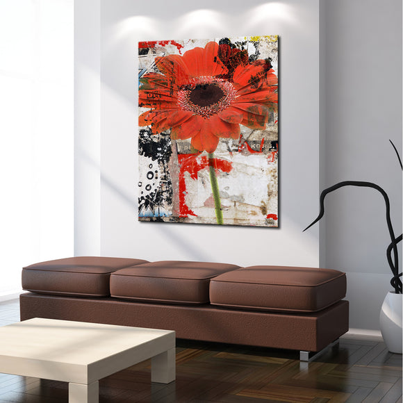 Ready2HangArt 'Painted Petals LXX' Canvas Art
