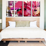Ready2HangArt 'Painted Petals LXXI' 4-piece Canvas Art Set