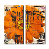 Ready2HangArt 'Painted Petals LXXVI' Canvas Art