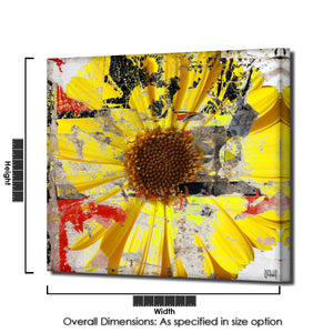 Ready2HangArt 'Painted Petals LXXIX' Canvas Art