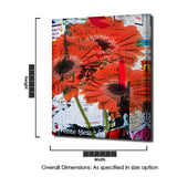 Ready2HangArt 'Painted Petals LXXXI' Canvas Art