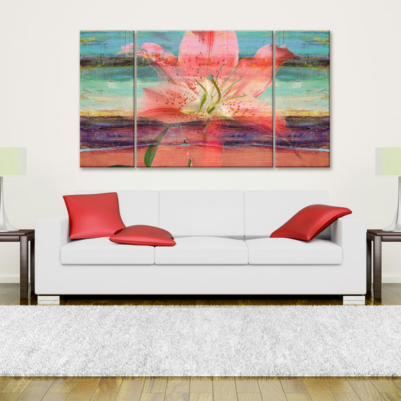 Ready2hangart  'Painted Petals IX' Canvas Wall Art