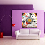 Ready2HangArt 'Painted Petals XCI' Canvas Art