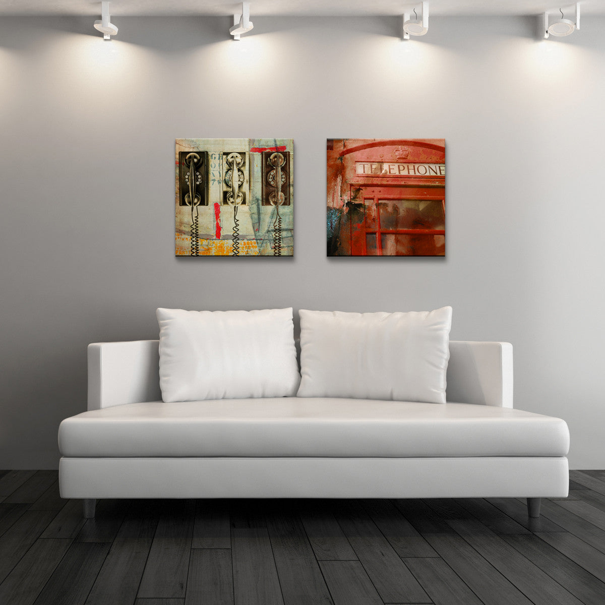 2 Piece Canvas Wall Art people, places, things x' canvas wall art (2-piece) – ready2hangart™