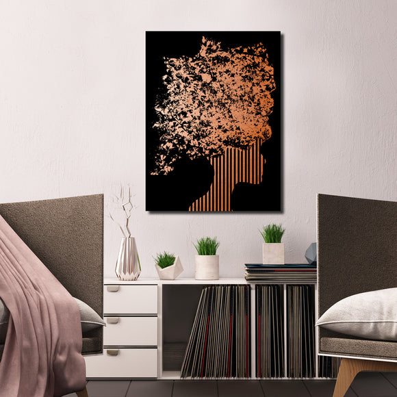 Ready2HangArt Wall Décor 'Gilt Mod XIII' in ArtPlexi